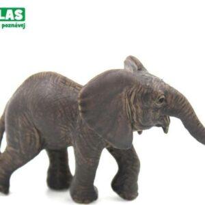 A - Figurka Slůně africké 9 cm