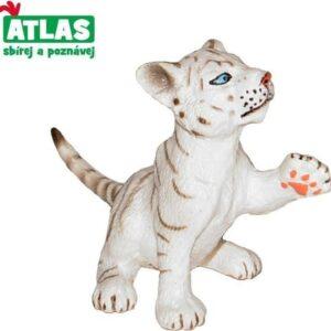 A - Figurka Tygr bílý mládě 6cm