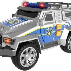 Auto - terénní policejní s efekty 22 cm
