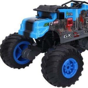 Auto terénní RC 29 cm - modrá barva
