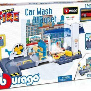 Bburago 1:43 Street Fire Car Wash