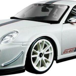 Bburago Porsche 911 GT3 RS 4.0 bílé