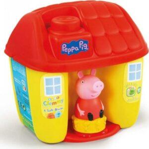 Clemmy baby Peppa Pig - kyblík s kostkami