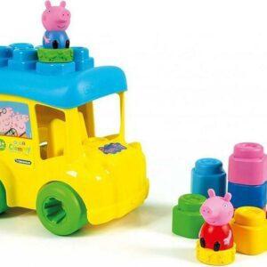 Clemmy baby Peppa Pig - školní autobus