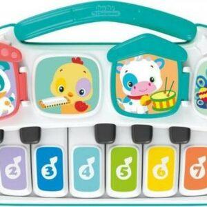 Dětské elektrické piano se zvířátky