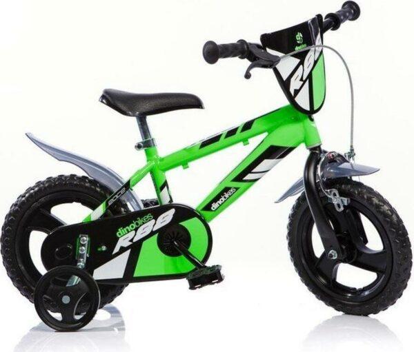 Dino Bikes Dětské kolo zelené