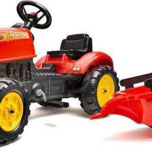 FALK šlapací traktor 2046AB X-Tractor s vlečkou a otvírací kapotou