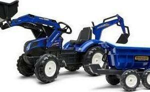 FALK Traktor šlapací New Holland T8 s nakladačem