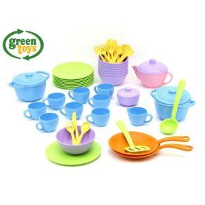 Green Toys Nádobí set 61 ks