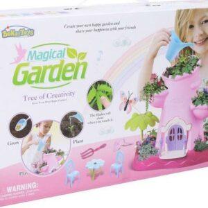 Magická zahrada s motýlky