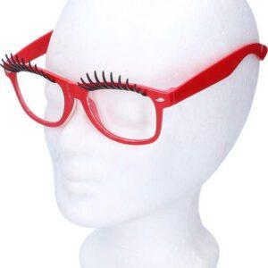 Brýle na karneval s řasami