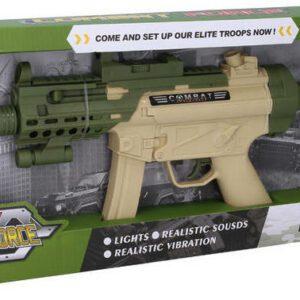 Dětská puška s efekty 55 cm