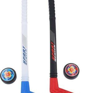 Dětské hokejky s puky 57 cm