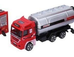 Auto hasičské kovové 12 cm
