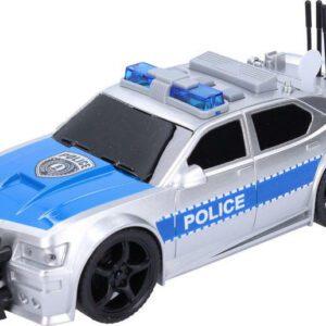 Auto policejní 19 cm s efekty