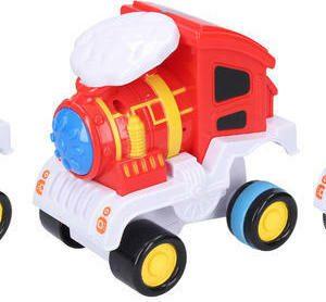 Vlak - mašinka převracející se 12 cm