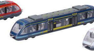 Vlak kovový 18 cm