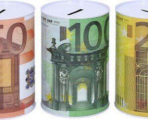Pokladnička Eura 10 x 15 cm