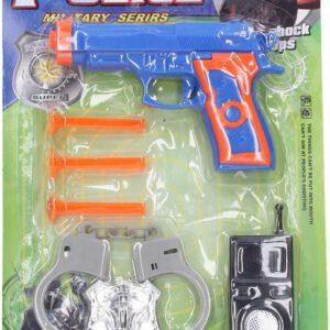 Policejní set se šipkami