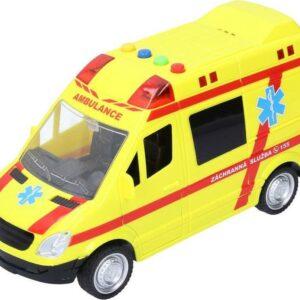 Auto - Záchranka s efekty 22 cm